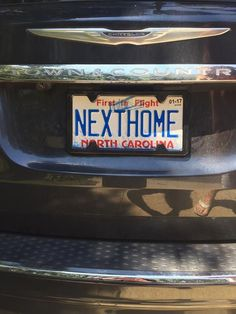 Another #NextHome license plate! Who's next?