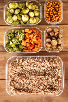 This meal prep has saved me throughout the week! I can have a healthy and delicious meal every day with hardly any work.