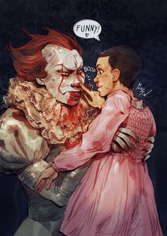 Pennywise is cute