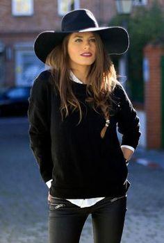 60 mejores imágenes de sombreros negros  e0933369edb