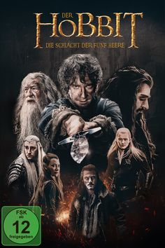 Meine Interpretation des Hobbit Blu Ray Covers zum Hobbit