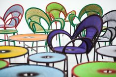 Outdoor furniture: the new Banjooli collection by Sebastian Herkner for Moroso | Lonny