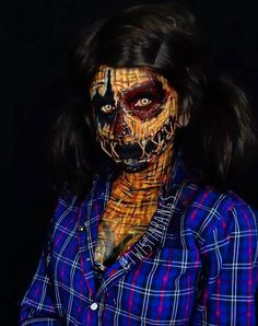 This Bodypainter Transforms Herself Into Beautiful Nightmares