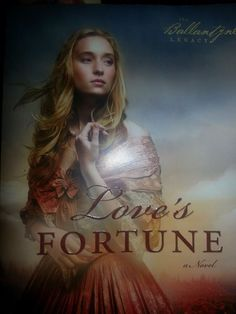I'm reading Love's Fortune this week, by Laura Frantz. I can't put it down! It's so amazing! This book should be on everyone's reading list!   (Thank you, dear Stacey!)