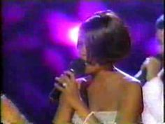 Whitney Houston Amazing Love Tribute To Luther Vandross 1999