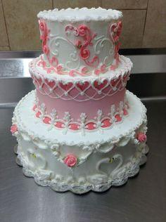 Indian Weddings Inspirations. Pink Wedding Cake. Repinned by #indianweddingsmag indianweddingsmag.com #classic