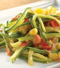 Spaguetti con calabaza