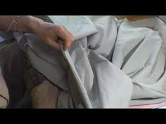 和裁、着物、縫い方、共衿かけ3 - YouTube