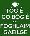 Tóg é go bóg é agus foghlaim gaeilge Take it easy and learn Irish- I either remember more or far less irish that I thought cos it looks like 'foghlaim' is the wrong firm of the verb! Irish Republican Army, Gaelic Words, Irish Language, Irish People, Irish Roots, Classroom Rules, Irish Blessing, Irish Eyes, Irish Celtic
