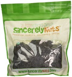 Sincerely Nuts Dried Organic Prunes Pitted - Five (5) Lb. Bag - Insanely Healthy - Appetizing Sweet Flavor - Sealed for Freshness - Kosher Certified -- Find out more about the great product at the image link.