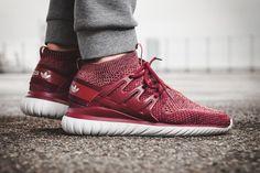 on sale 22fb5 124b5 adidas Tubular Nova PK (Mystery Red) - Sneaker Freaker