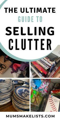 Garage Sale Organization, Garage Sale Tips, Organization Hacks, Organizing, House Cleaning Tips, Spring Cleaning, Cleaning Hacks, Sell Your Stuff, Things To Sell