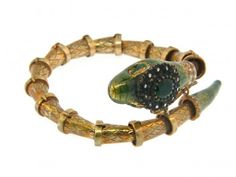 Serpent Cuff by Atelier Minyon -- they have been designing, handcrafting and selling for over 40 years