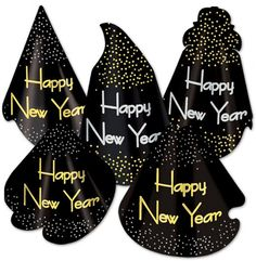 New Years The Midnight Hat Assortment - 25 Pack Case Pack 50
