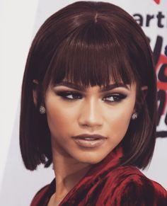 Zendaya | Pinterest: Danna Ortiz Cute Hairstyles For Short Hair, Short Hair Styles, Zendaya Makeup, Bob Braids, Zendaya Coleman, Most Beautiful People, Bae, Queen, Girl Power