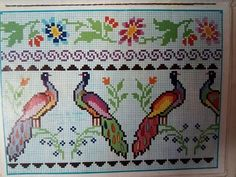 Cross Stitch Sea, Cross Stitch Patterns, Beaded Shoes, Vintage Cross Stitches, Brazilian Embroidery, Crafty Craft, Hand Embroidery, Alphabet, Kids Rugs