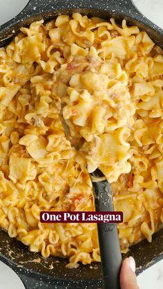 Casserole Recipes, Pasta Recipes, Beef Recipes, Cooking Recipes, Healthy Recipes, Pasta Dinners, Relleno, Quick Meals, I Love Food