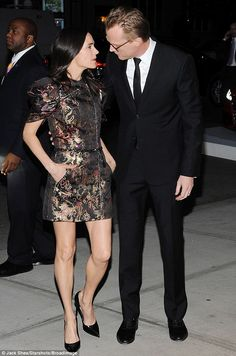 The look of love: Jennifer Connelly supported husband Paul Bettany at a special screening ...