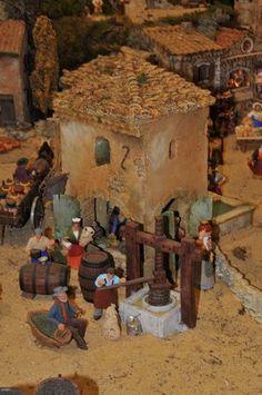 La Crèche Provençale des Saintes Maries de la mer. Trouvé sur http://salondessantonniers.over-blog.fr