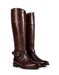 Burberry boots it's boot season and everyone wants this equestrian type of boots very in season  -Gen