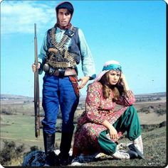 "Kemal Sunal & Meral Zeren - 1974 ""Salako"" filminden bir sahne"