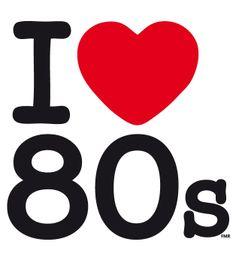 I LOVE 80s #music #fashion #style #movie #TV