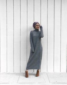 Image result for turtle neck dress hijab