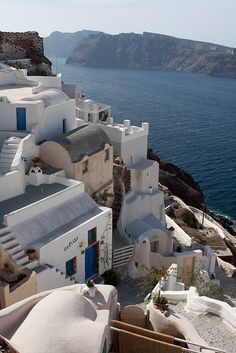 Another of Oia on the island of Santorini...breathtakingly beautiful.