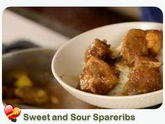 Sweet Sour Spare Ribs - ILoveHawaiianFoodRecipes