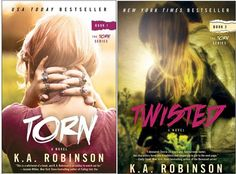 Torn Series by K.A. Robinson