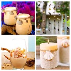 I will have lots of beach decorations in my home