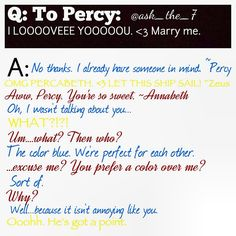 Oh you did not just call me annoying Percy Jackson!! Zeus you are not siding with Percy on this one!!!!!!