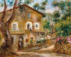 Pierre-Auguste Renoir - The Maison de Collette in Cagnes.