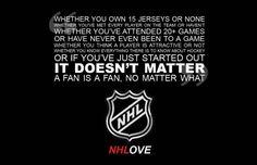 NHL Love