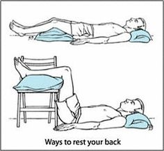 5 Things: To Relieve Lower Back Pain Scatia, degenerative disc disease and herniated disc. Hope it works.