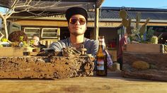 This is Woodstock ;-) #CasaNostra #SportsBar, let the festival begin #CapeTOWN new local sports bar, handcrafted ART,TIKI Design
