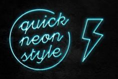 Neon Pro text effect by Evlogiev on @creativemarket
