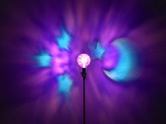 This Purple and Blue Moon and Star themed Mood-Light is a perfect Night Light in Kids rooms, Nurseries, and big kids rooms too.  It projects a Celestial Design throughout the room in calming Purple and Blue Light.