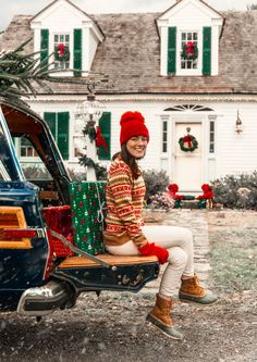 The Cozy Isle Sweater – Kiel James Patrick Cosy Christmas, Merry Christmas, Christmas Sweaters, Christmas Time, Preppy Christmas, Christmas Outfits, Christmas Christmas, Christmas Fashion, Christmas Photos