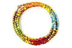 Bohemian Beaded Wrap Bracelet