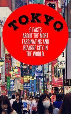 Tokyo, Japan: 9 Facts About The Most Fascinating And Bizarre City In The World. I had always thought that Tokyo is like a visit to another planet. When I finally arrived in Japan, it was even weirder and more bizarre than I ever expected it. - via @Just1WayTicket #travel #pinspiration #tokyo