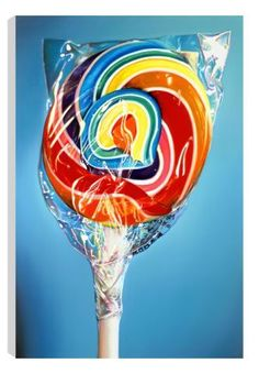 Still Life Rainbow Swirl (Canvas Edition) by Sarah Graham Available form Westover Gallery £265