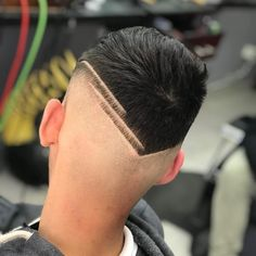 Cool Hairstyles For Men, Quick Hairstyles, Hairstyles Haircuts, Haircuts For Men, Hair Art, My Hair, Hair Tattoo Designs, Short Hair With Beard, Faded Hair
