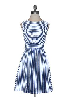 Emily and Fin Sailor Stripe Dress