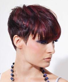 short hair highlights | Stylish Hair Highlights for Dark Hair