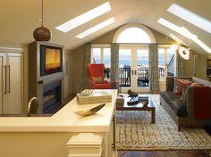garage apartment designs   Ravishing Above Garage Apartment in Family Room Traditional design ...