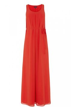 This maxi dress features a sheer overlay, jersey slip and defined waist Best Maxi Dresses, Dresses For Work, Orange Vests, Dress Down Day, Pretty Summer Dresses, Dress Images, Floral Maxi Dress, Black Satin, Overlay