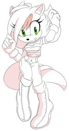 Zalena by on DeviantArt Sonic The Hedgehog, Shadow The Hedgehog, Hedgehog Drawing, Hedgehog Art, Sonic And Amy, Sonic And Shadow, Wolf Character, Character Design, Green Lantern Movie