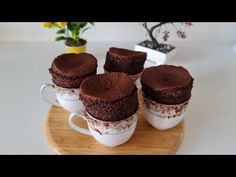 Fără coacere! De când știam că poți găti sufleul așa # 358 - YouTube Cold Desserts, No Cook Desserts, Delicious Desserts, Dessert Recipes, Souffle Recipes Easy, Mug Recipes, French Apple Tart, Arabic Dessert, Flan