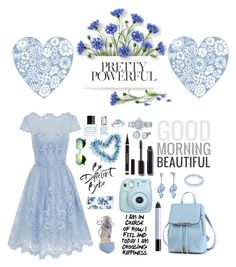 """""""Blue ♡"""" by awkward-fashion-queen ❤ liked on Polyvore featuring Chi Chi, Kristin Cavallari, Sonix, Yves Saint Laurent, Chanel, Marc Jacobs, Leighton Denny, Amour, OMEGA and Skagen"""